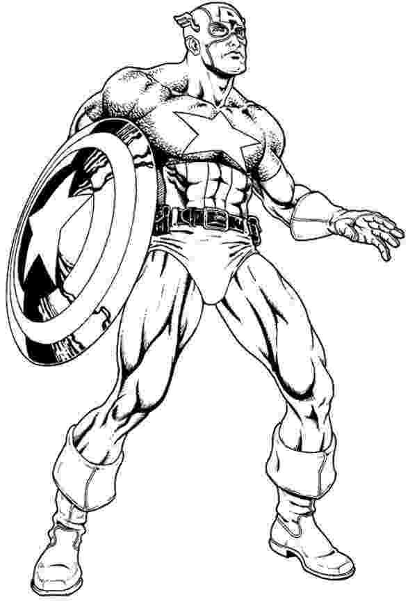 coloring pictures of captain america captain america coloring pages to download and print for free of america pictures captain coloring