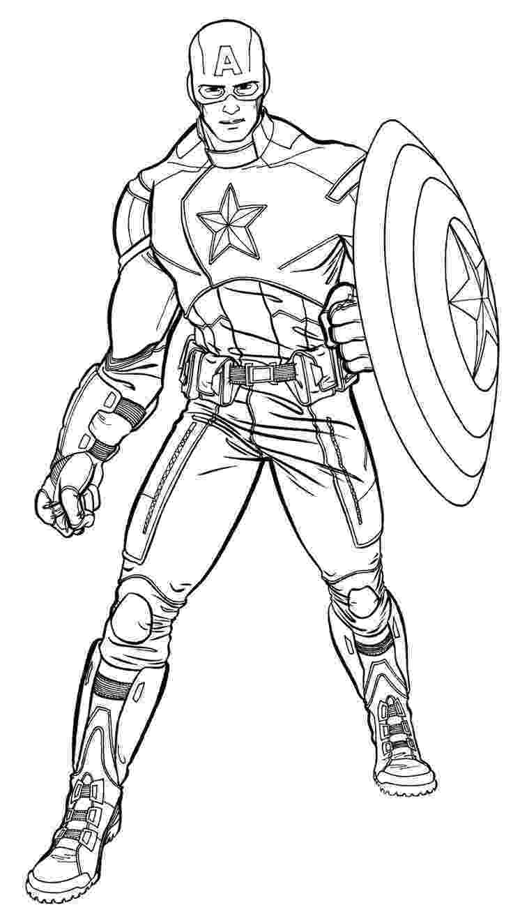 coloring pictures of captain america coloriage captain america a imprimer 380 colouring captain america of coloring pictures