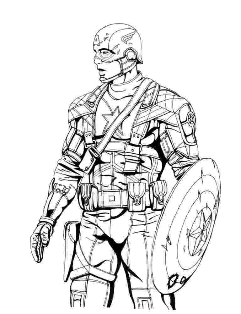 coloring pictures of captain america free printable captain america coloring pages for kids america of captain pictures coloring
