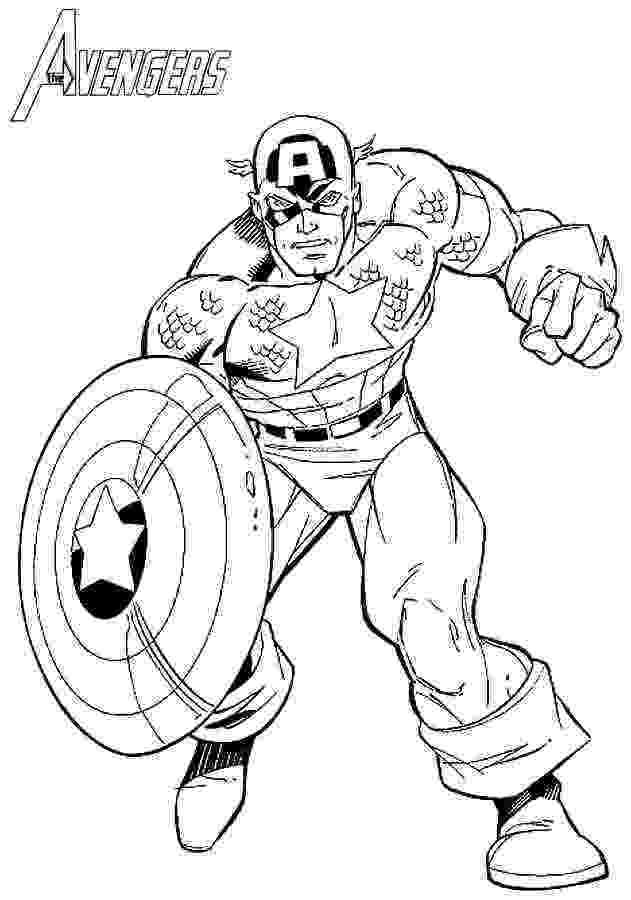 coloring pictures of captain america free printable captain america coloring pages for kids captain of coloring america pictures