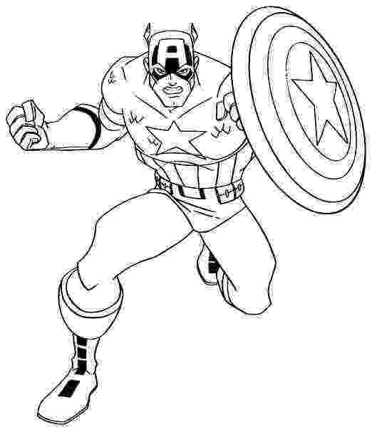 coloring pictures of captain america free printable captain america coloring pages for kids captain of coloring pictures america