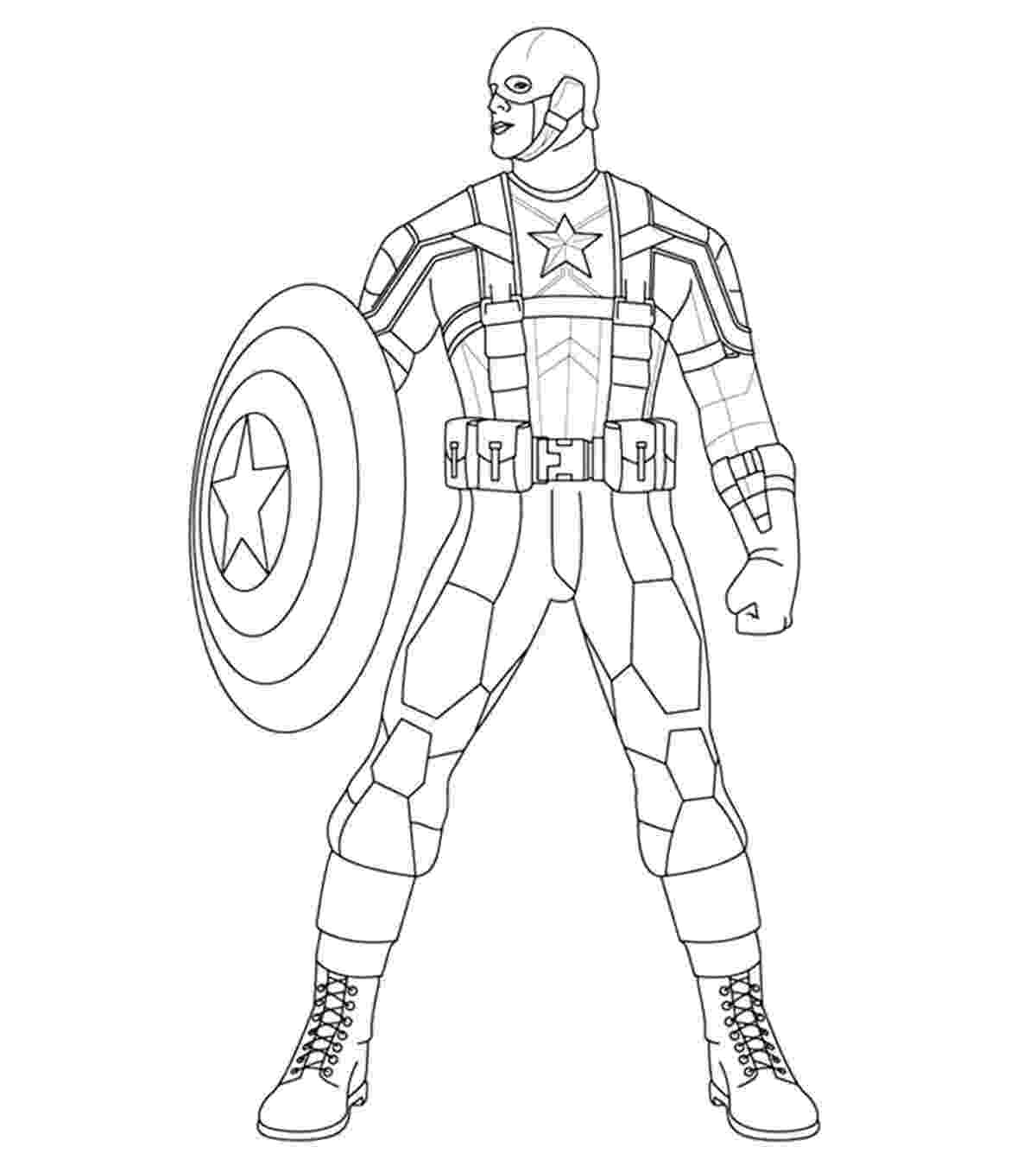 coloring pictures of captain america free printable captain america coloring pages for kids pictures of coloring america captain