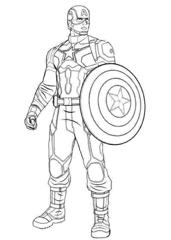 coloring pictures of captain america marvel coloring pages best coloring pages for kids coloring of pictures america captain