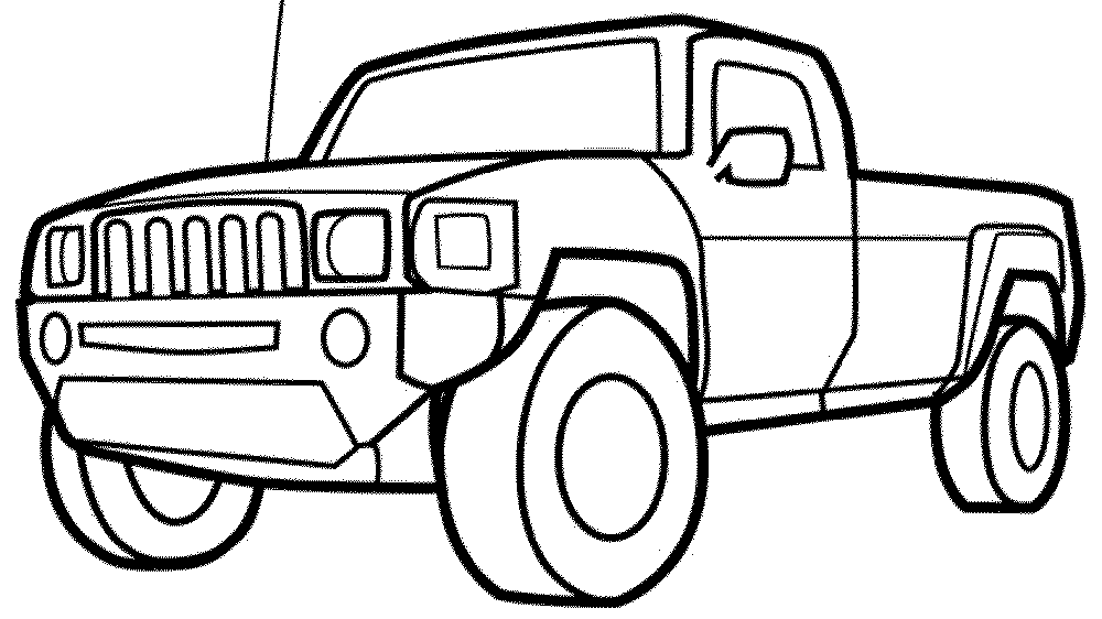 coloring pictures of cars and trucks cars and trucks coloring pages at getdrawingscom free coloring of pictures and trucks cars