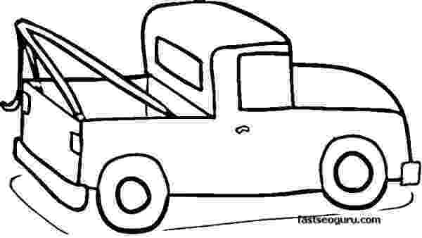 coloring pictures of cars and trucks pickup truck coloring pages for print out printable coloring of pictures cars and trucks