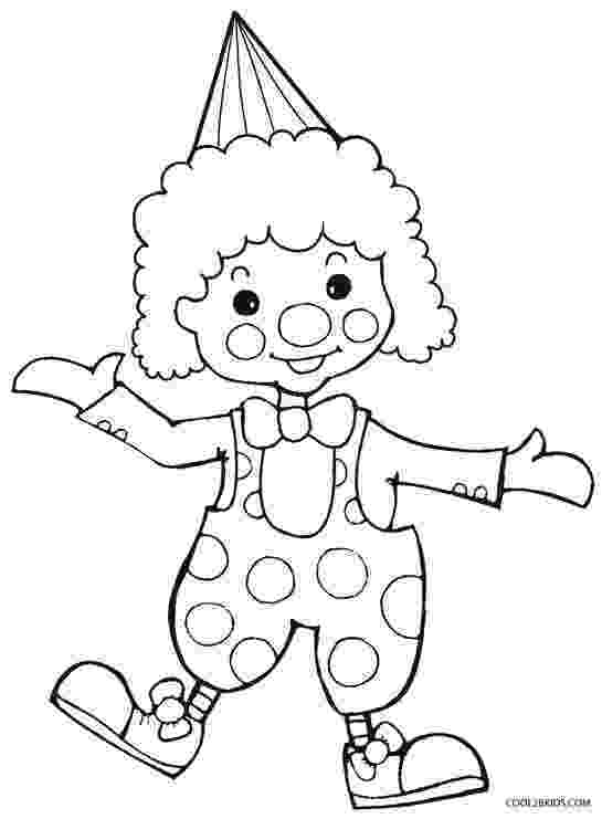 coloring pictures of clowns clowns coloring pages coloringpages1001com of pictures clowns coloring