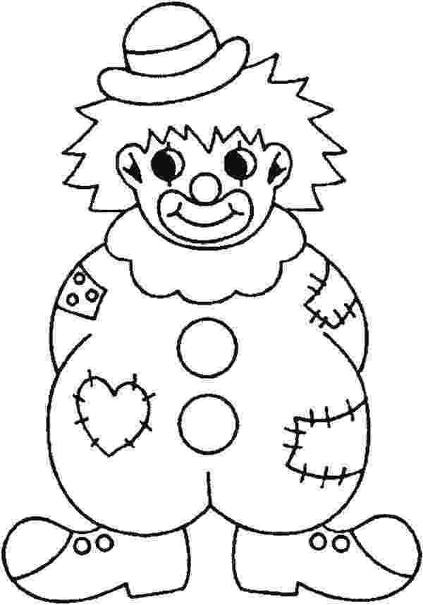 coloring pictures of clowns free printable clown coloring pages for kids clowns pictures of coloring