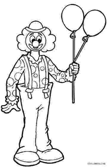 coloring pictures of clowns printable clown coloring pages for kids cool2bkids pictures clowns of coloring