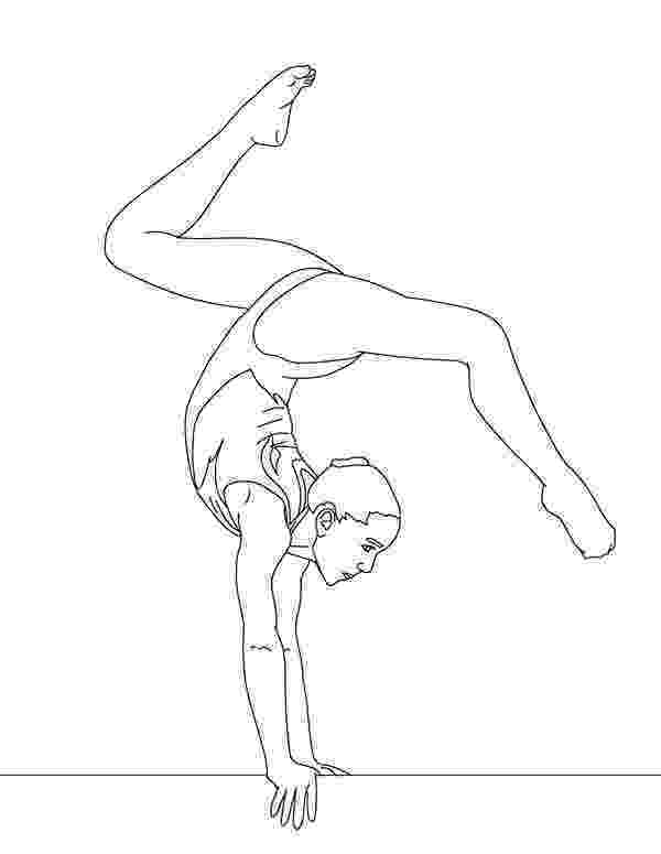 coloring pictures of gymnastics balance beam artistic gymnastic coloring page download of gymnastics pictures coloring