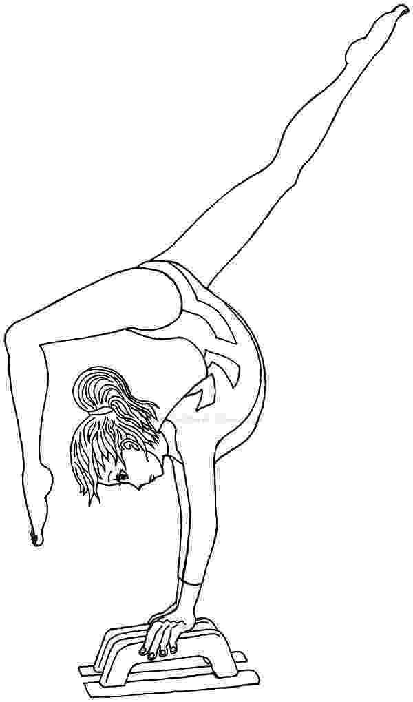coloring pictures of gymnastics free printable gymnastics coloring pages for kids gymnastics pictures of coloring 1 2