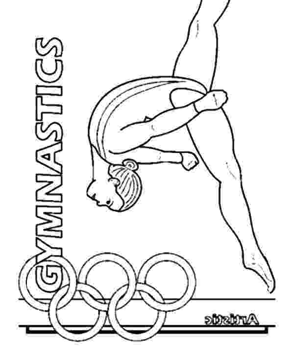 coloring pictures of gymnastics free printable gymnastics coloring pages for kids of coloring gymnastics pictures