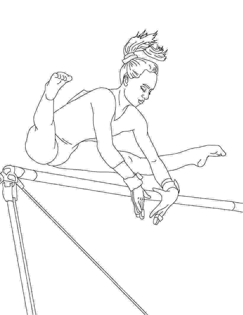 coloring pictures of gymnastics gymnastics coloring pages best coloring pages for kids of coloring pictures gymnastics