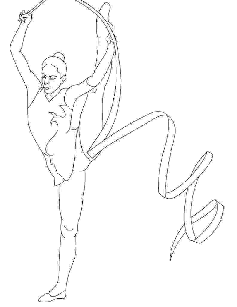coloring pictures of gymnastics gymnastics coloring pages best coloring pages for kids of gymnastics coloring pictures