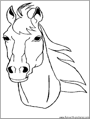 coloring pictures of horses heads horse coloring pages free horse face coloring page heads coloring pictures horses of