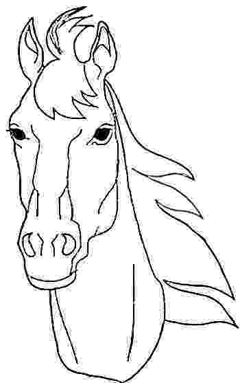 coloring pictures of horses heads horse head coloring page getcoloringpagescom pictures heads coloring horses of