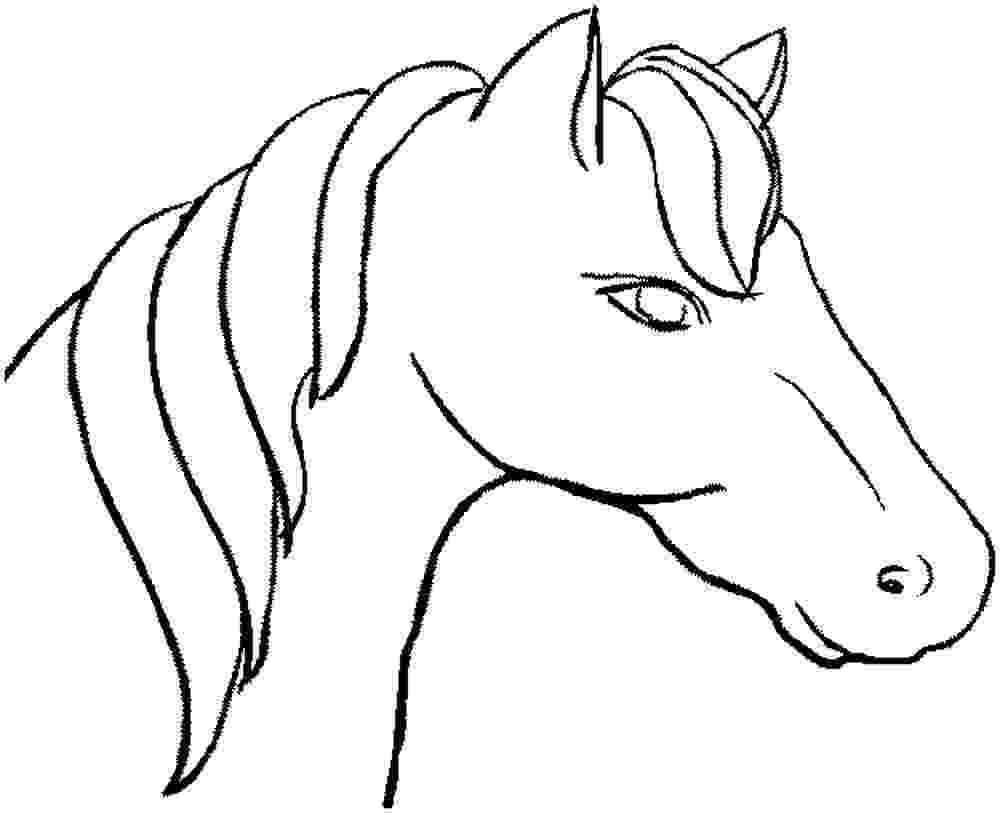 coloring pictures of horses heads horse riding coloring sheets coloringsnet coloring of heads pictures horses