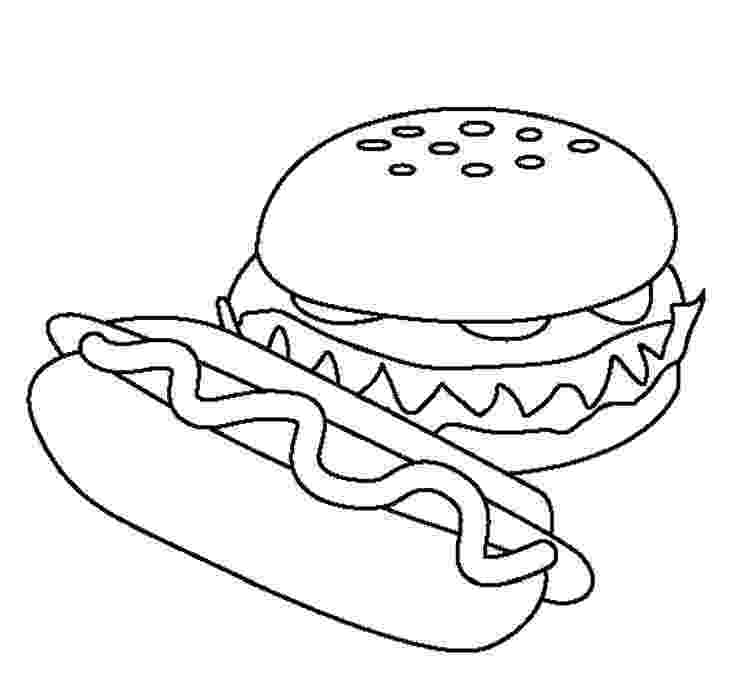 coloring pictures of meat food hamburger models food coloring pages coloring pictures meat of coloring