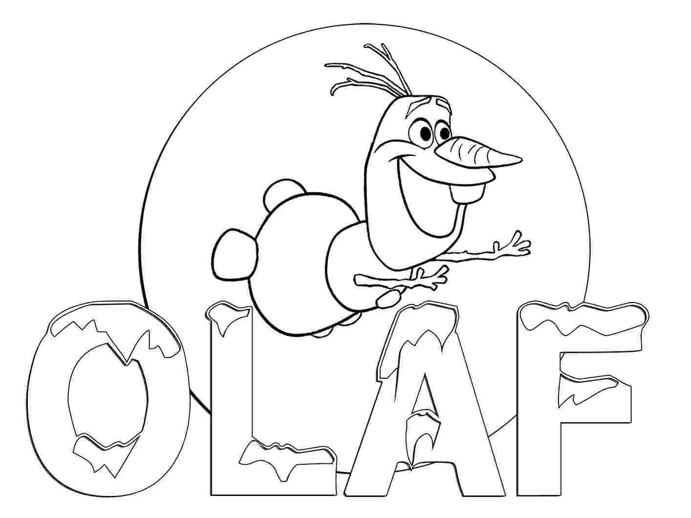 coloring pictures of olaf disney frozen olaf coloring pages getcoloringpagescom of pictures olaf coloring