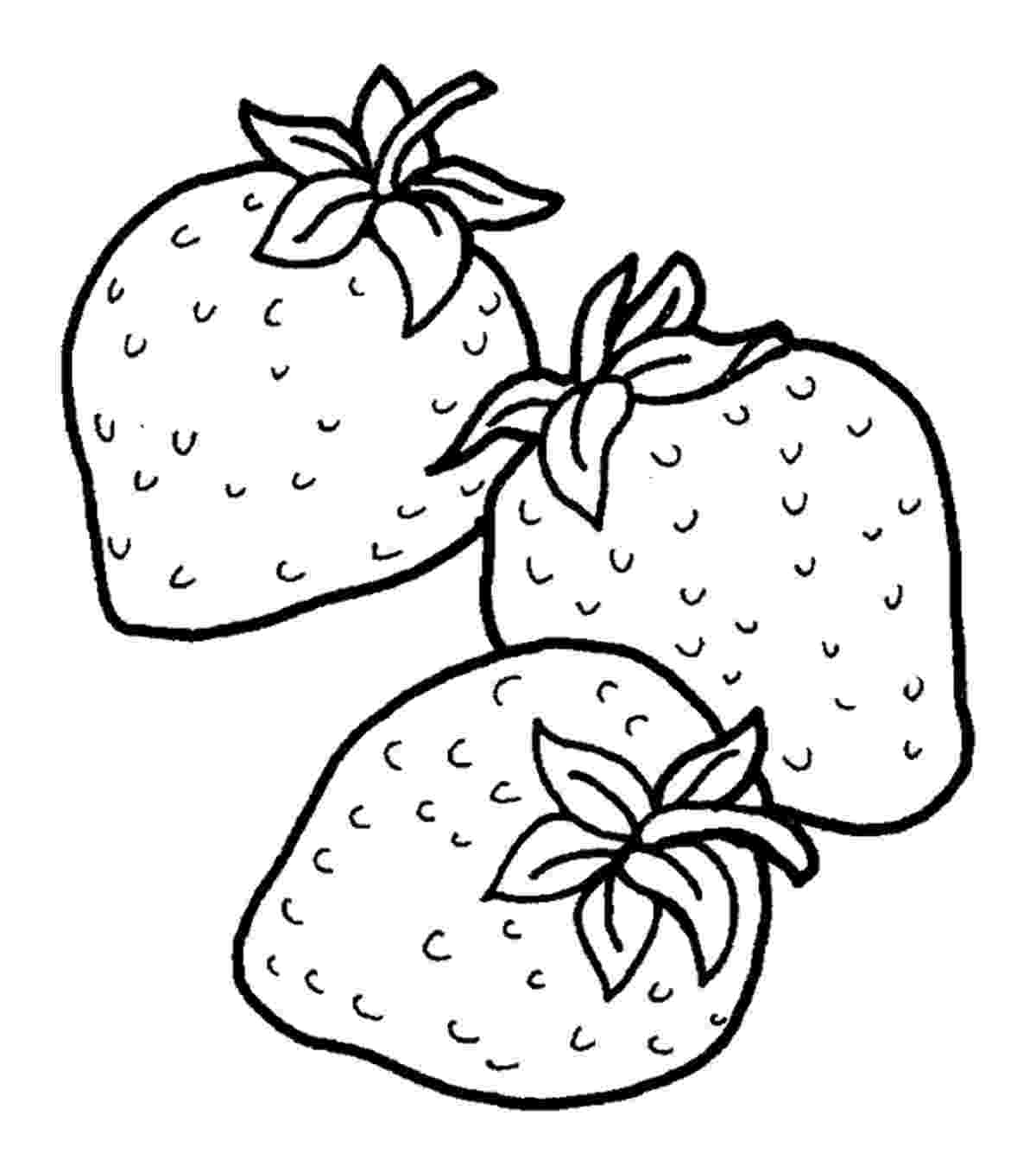 coloring pictures of strawberries strawberry coloring pages best coloring pages for kids of coloring pictures strawberries