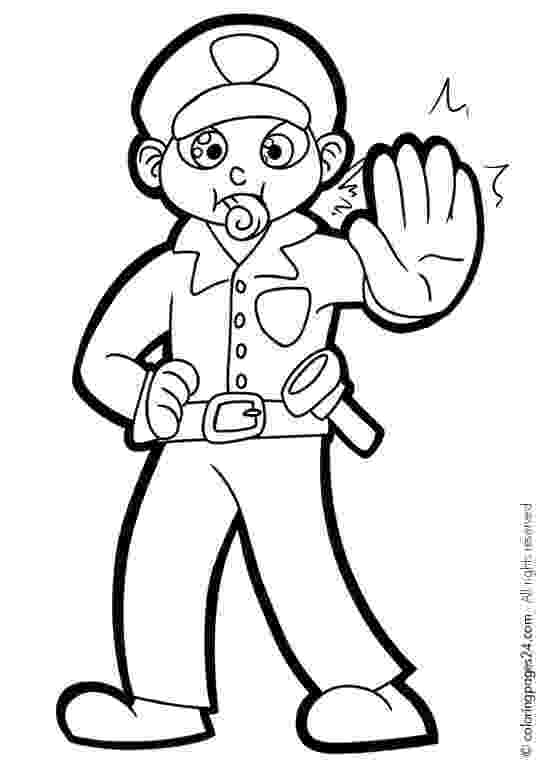 coloring police officer 45 police coloring pages to print police coloring pages coloring police officer