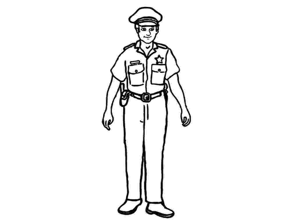 coloring police officer police coloring pages getcoloringpagescom officer coloring police