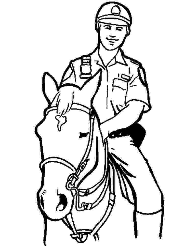 coloring police officer policeman coloring pages getcoloringpagescom officer police coloring