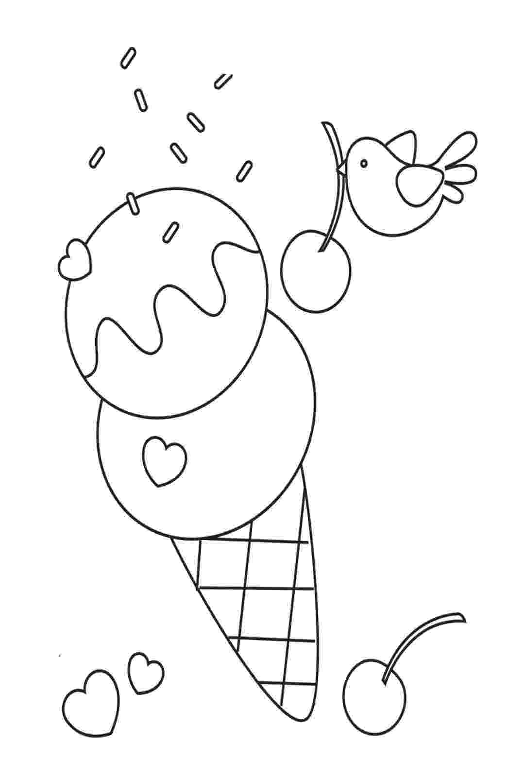 coloring sheet ice cream free printable ice cream coloring pages for kids sheet coloring cream ice