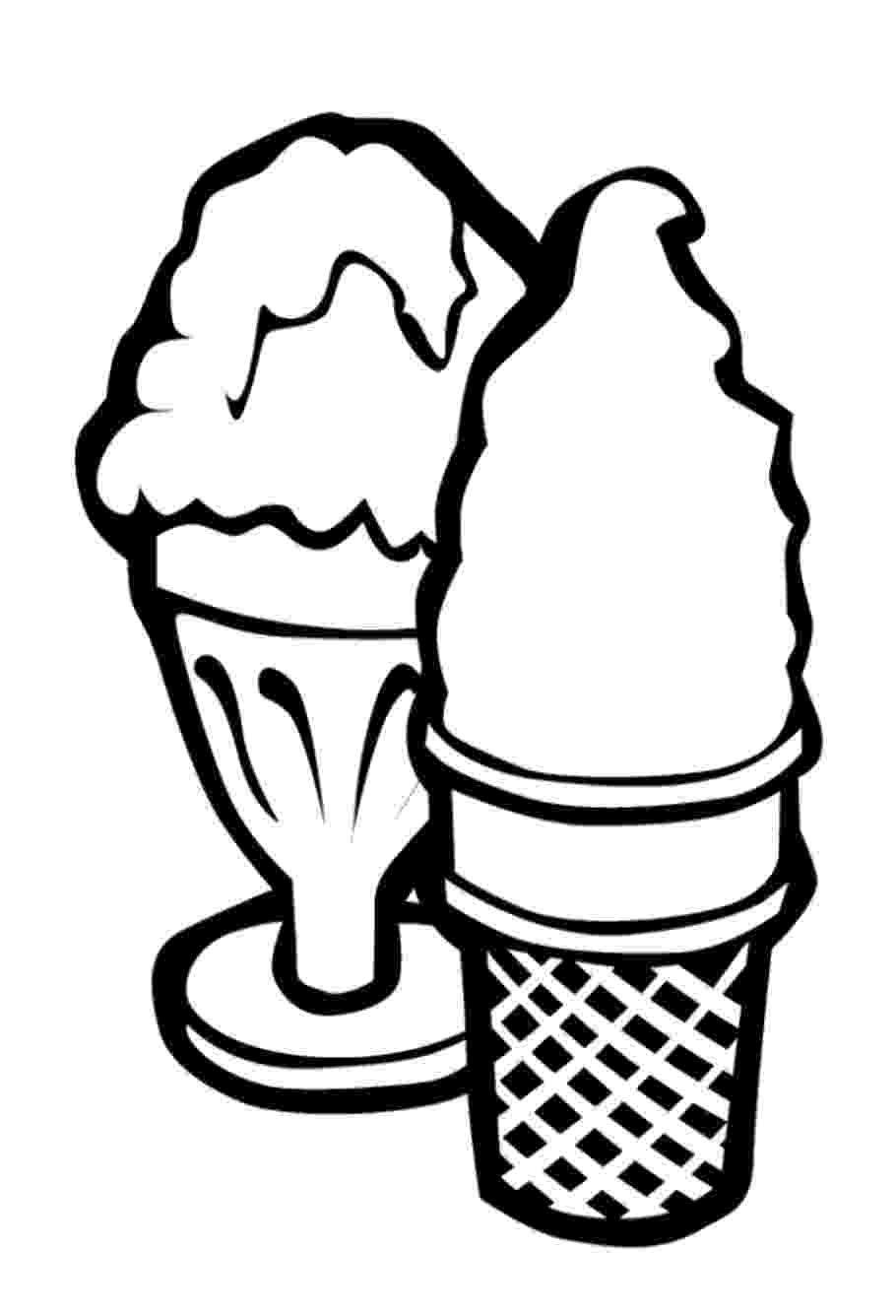 coloring sheet ice cream ice cream coloring pages download and print for free cream ice sheet coloring