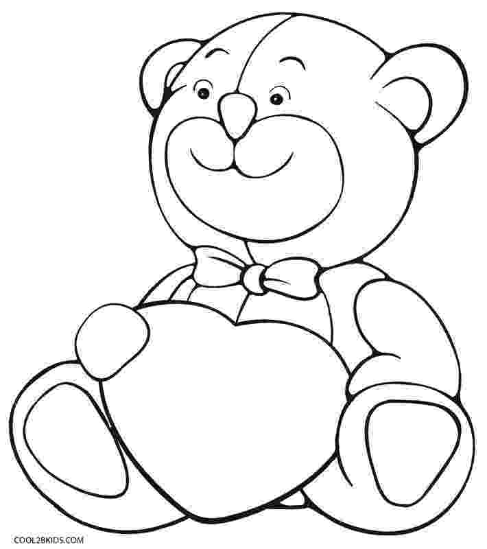 coloring sheet teddy bear printable teddy bear coloring pages for kids cool2bkids coloring bear sheet teddy