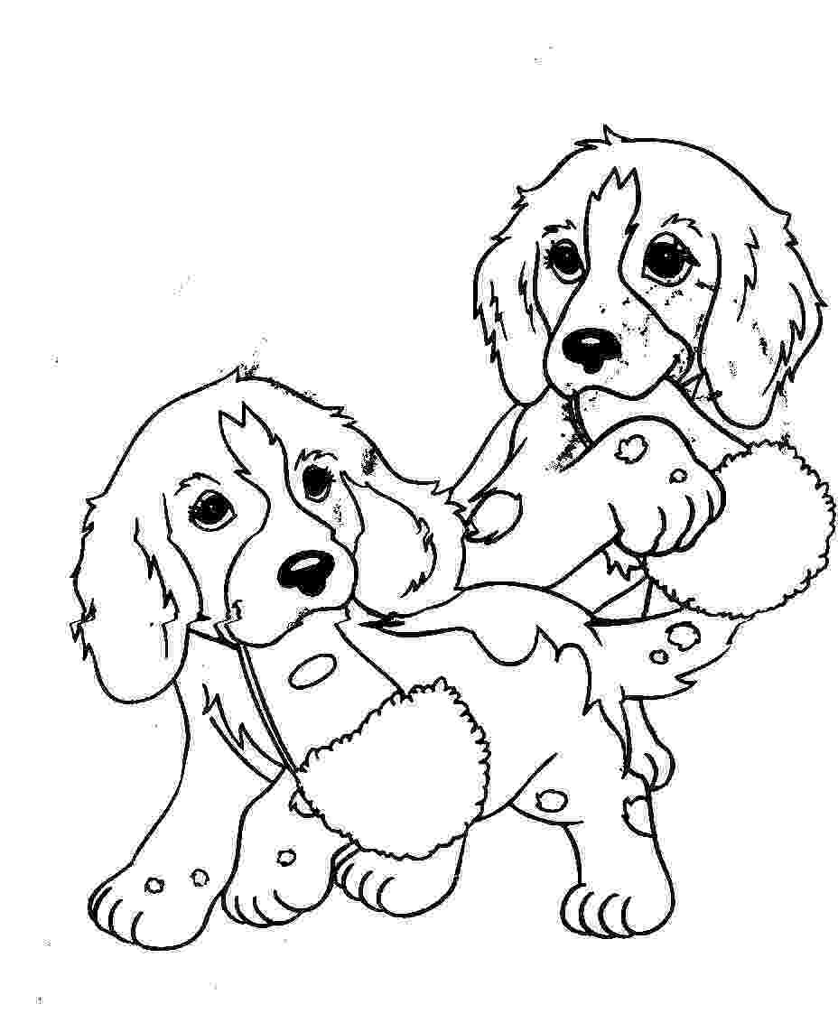 coloring sheets dogs printable dogs coloring pages to kids dogs coloring sheets