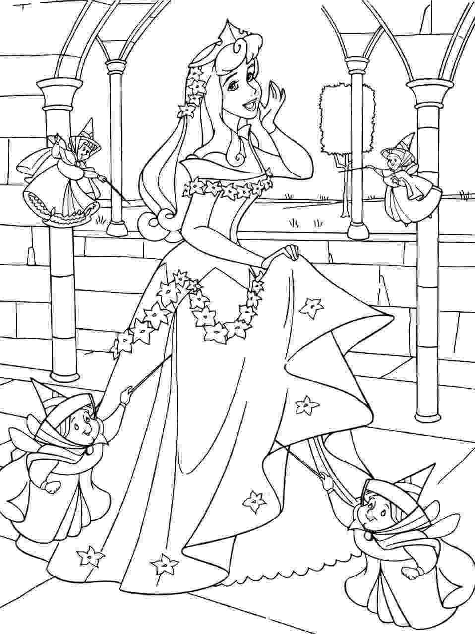 coloring sleeping beauty sleeping beauty coloring pages print disney princess coloring sleeping beauty
