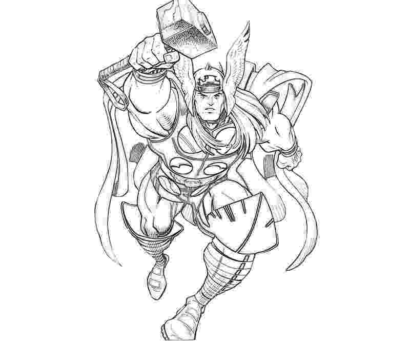 coloring thor free printable thor coloring pages for kids coloring thor 1 1