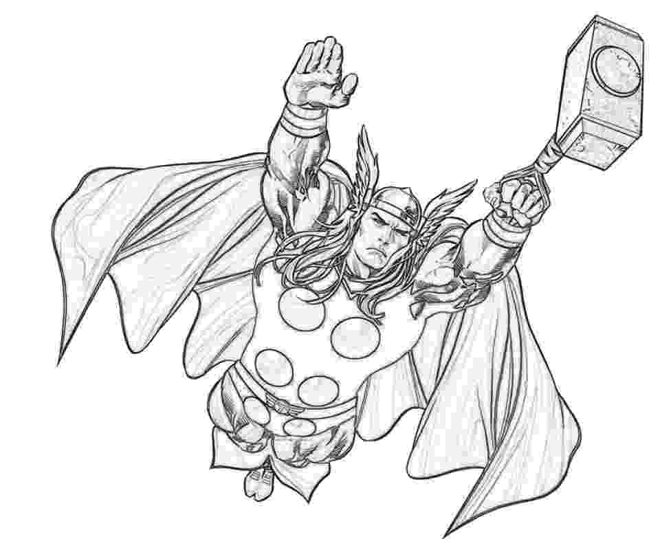 coloring thor get this free thor coloring pages to print 12490 thor coloring