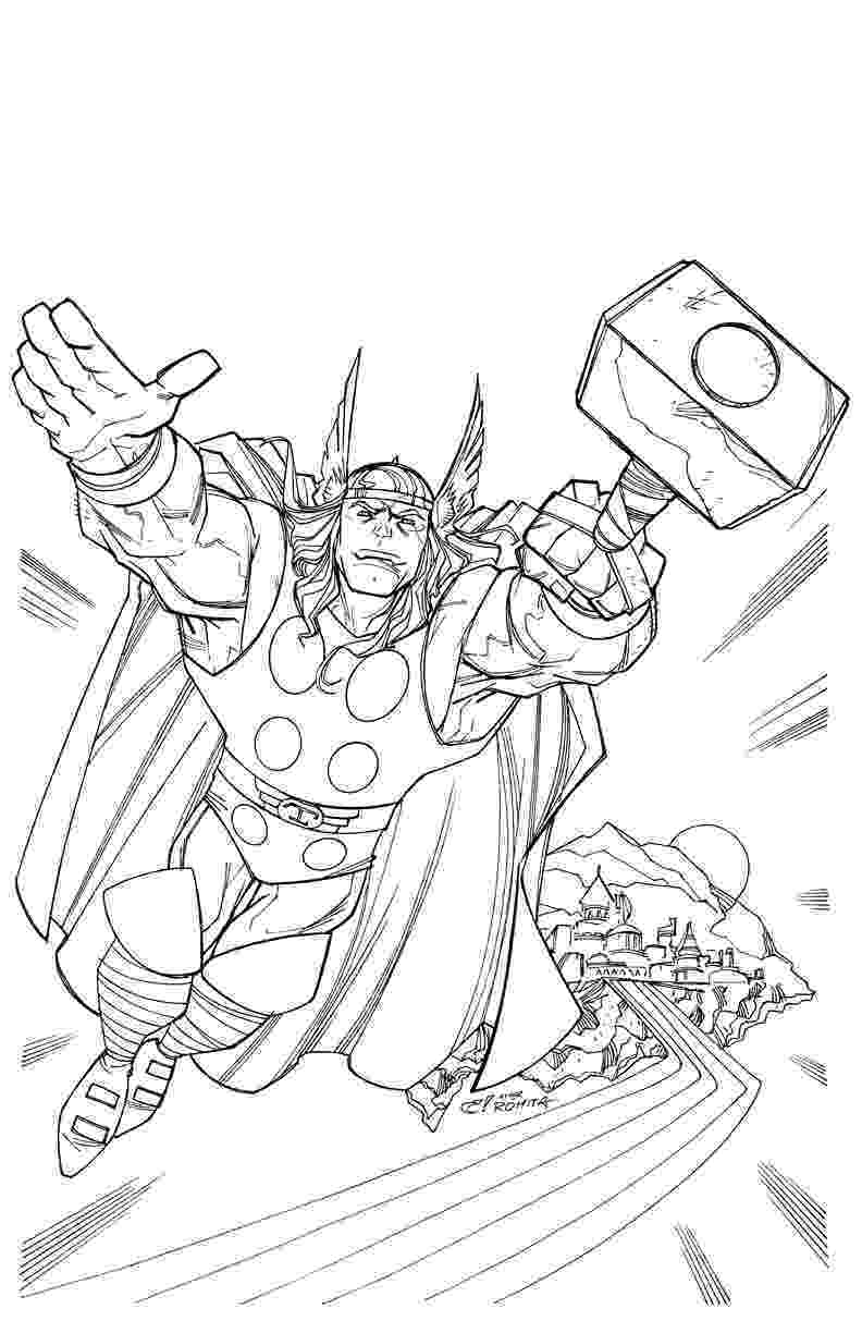 coloring thor printable thor coloring pages for kids cool2bkids thor coloring