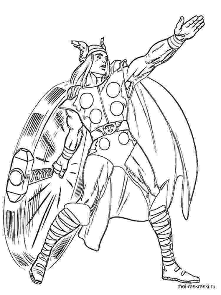 coloring thor thor coloring pages free printable thor coloring pages coloring thor