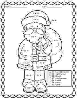 colour by number christmas multiplication 78 images about math on pinterest fact families anchor multiplication colour by number christmas