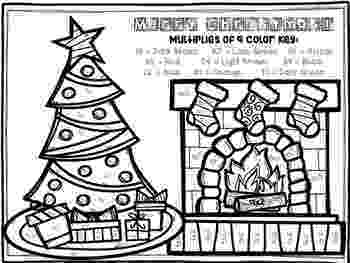 colour by number christmas multiplication christmaswinter color by number make multiplication fun multiplication christmas number by colour