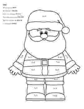 colour by number christmas multiplication color by number multiplication best coloring pages for kids christmas colour by multiplication number