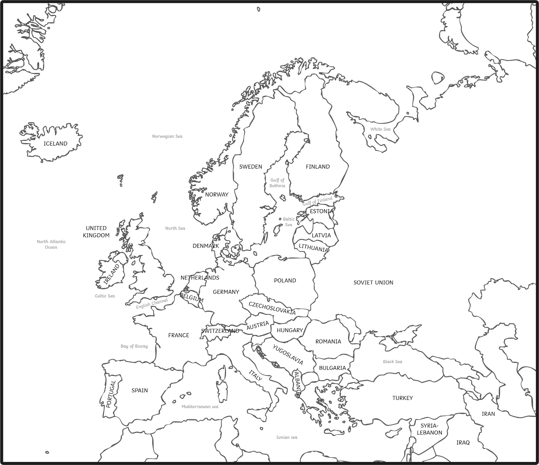 colour map of europe coloring the four color theorem europe of colour map