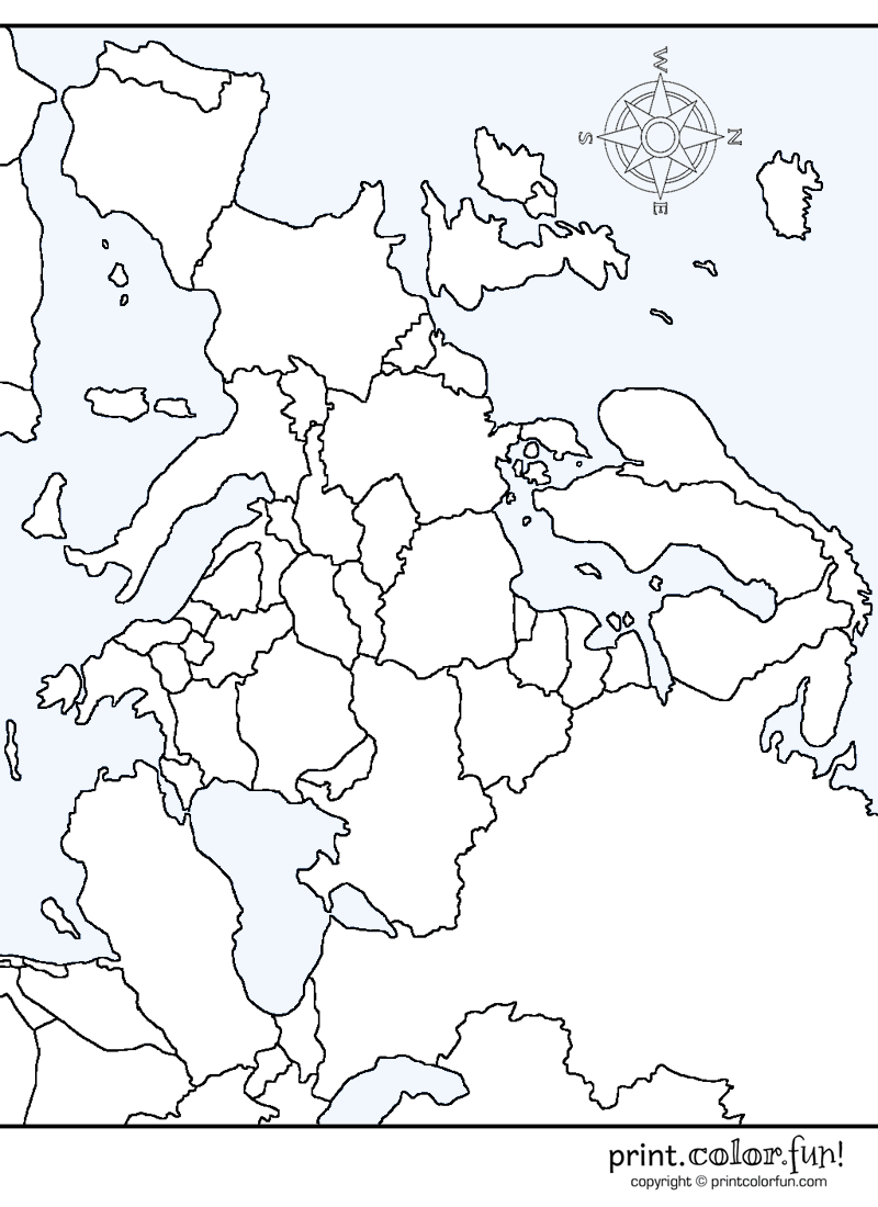 colour map of europe map of europe coloring page travelquazcom europe of colour map