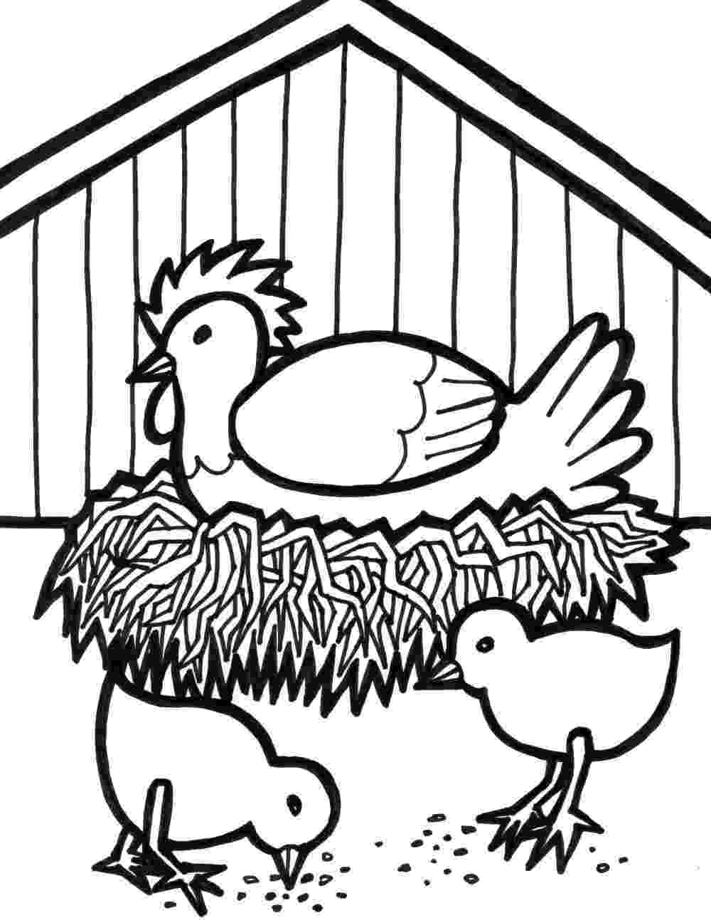 colouring farm animals 76 best images about coloring pages on pinterest donald farm colouring animals