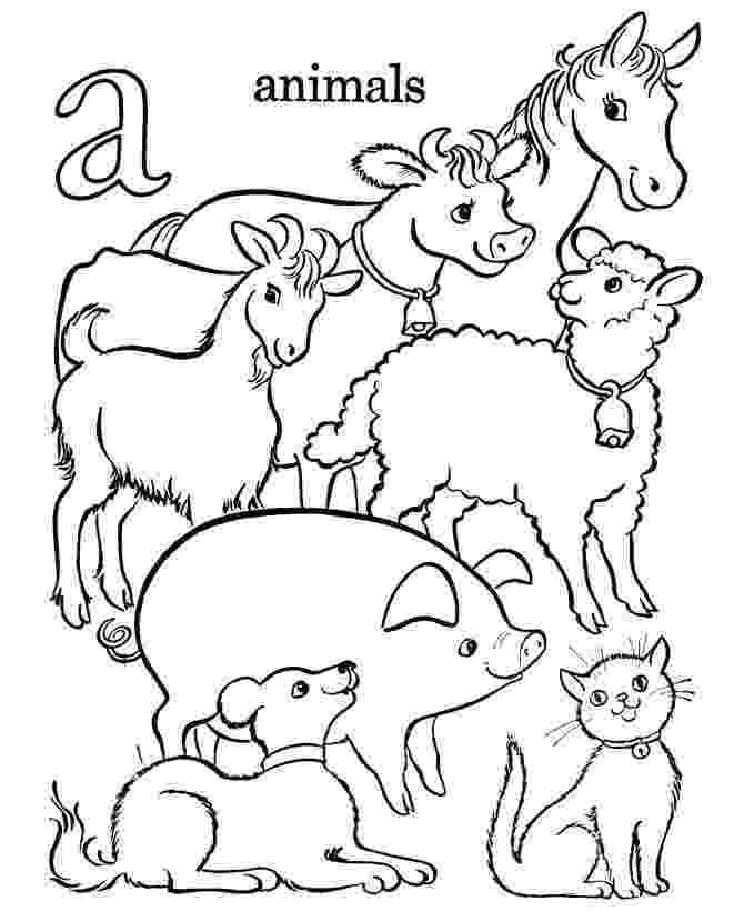 colouring farm animals farm animals coloring page colouring farm animals