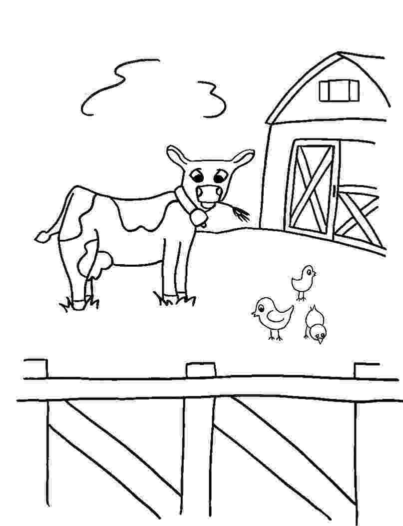 colouring farm animals printable farm animal coloring for kindergarten k5 colouring animals farm