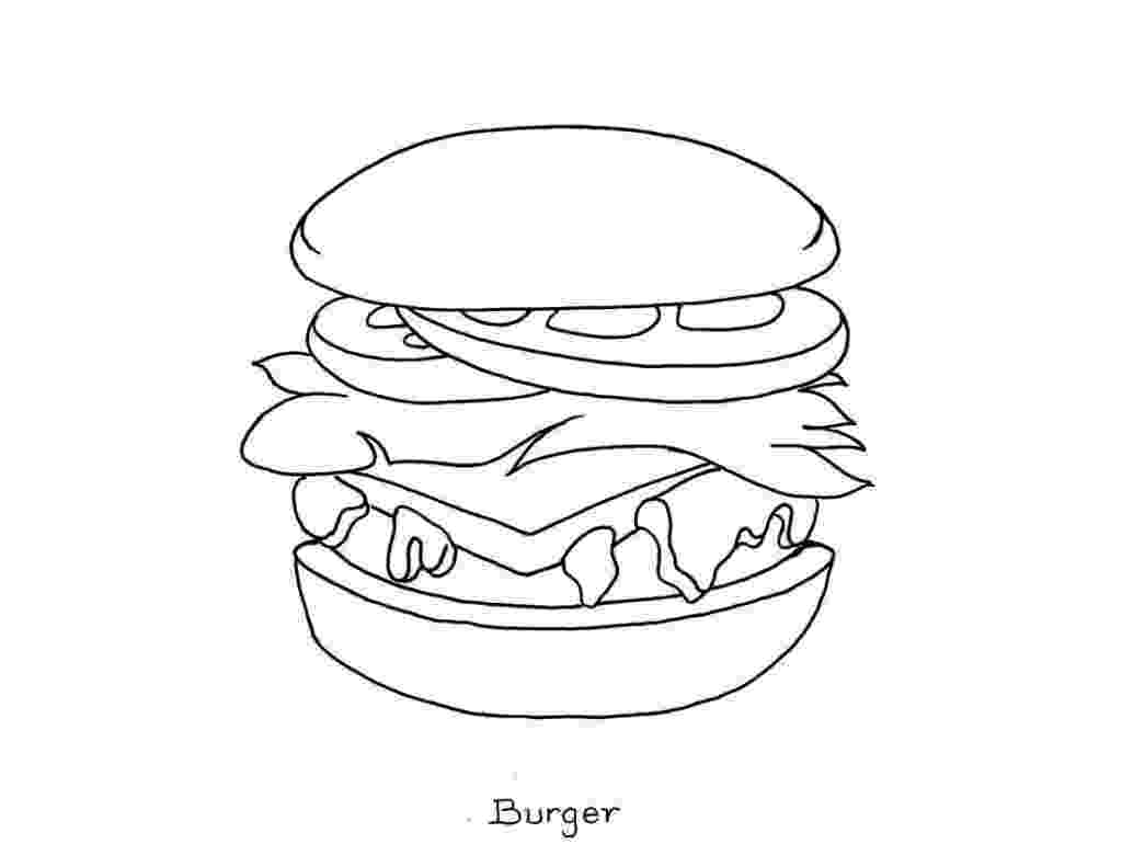 colouring food pictures food hamburger models food coloring pages coloring colouring food pictures