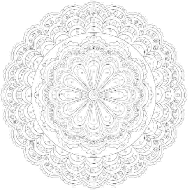 colouring for adults by numbers colorbynumber mandala coloring pages colouring adult numbers for by colouring adults