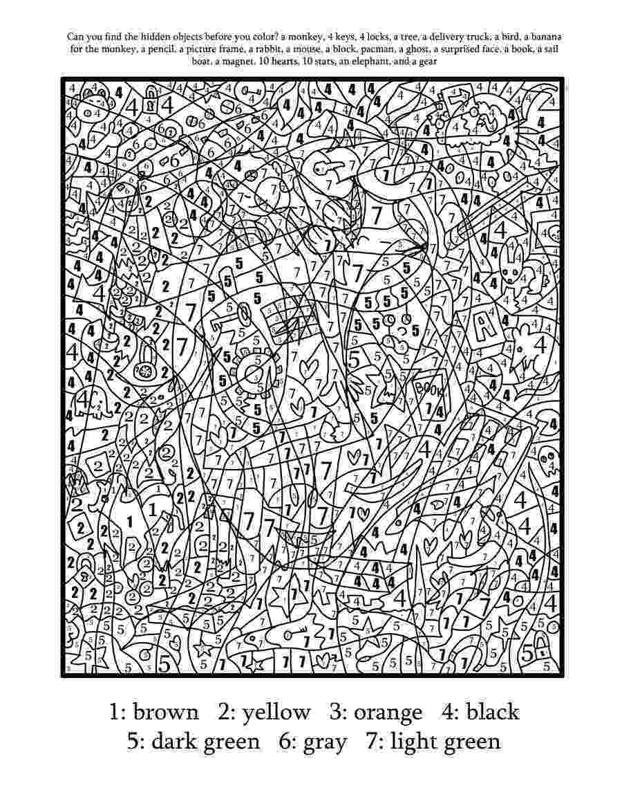 colouring for adults by numbers free printable color by number coloring pages for adults adults by numbers for colouring