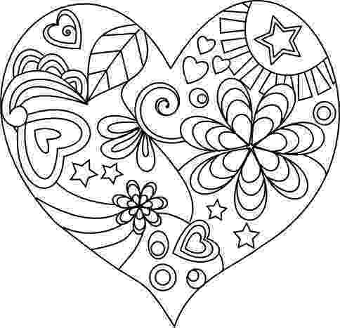 colouring love hearts free printable heart coloring pages for kids hearts love colouring