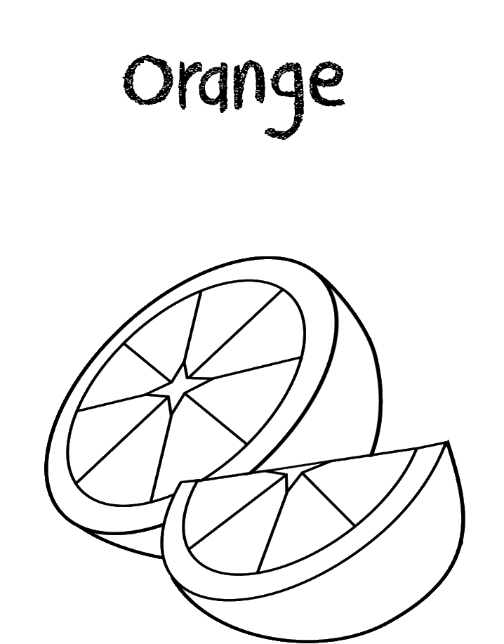 colouring orange orange coloring pages getcoloringpagescom colouring orange