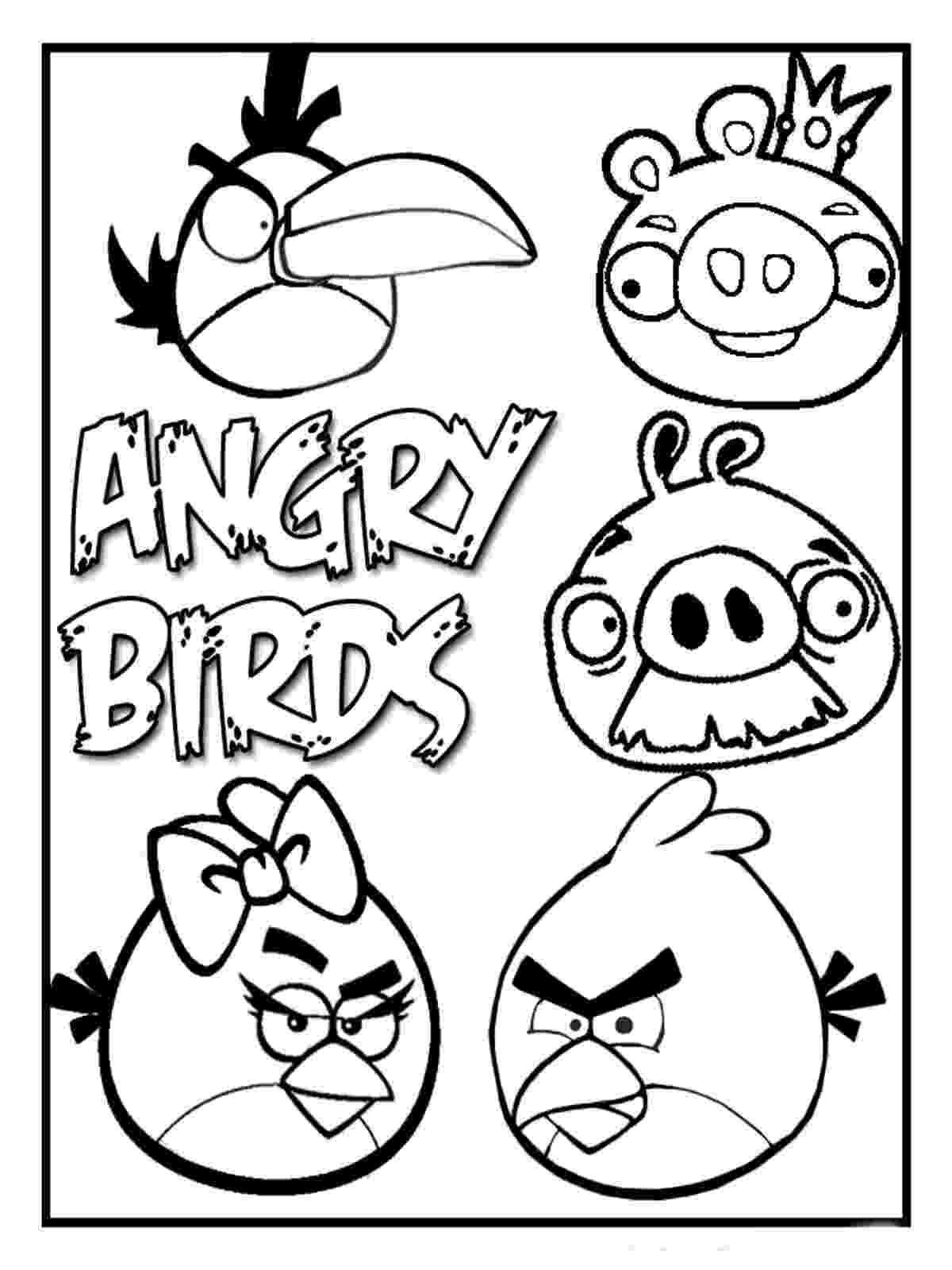 colouring pages angry birds go 15 best printable angry birds colouring pages for kids angry birds go pages colouring