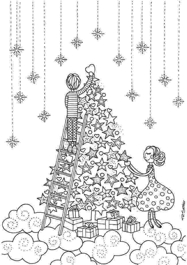 colouring pages christmas free 21 christmas printable coloring pages everythingetsycom pages christmas free colouring
